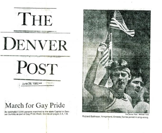 1982 Gay Pride in Denver