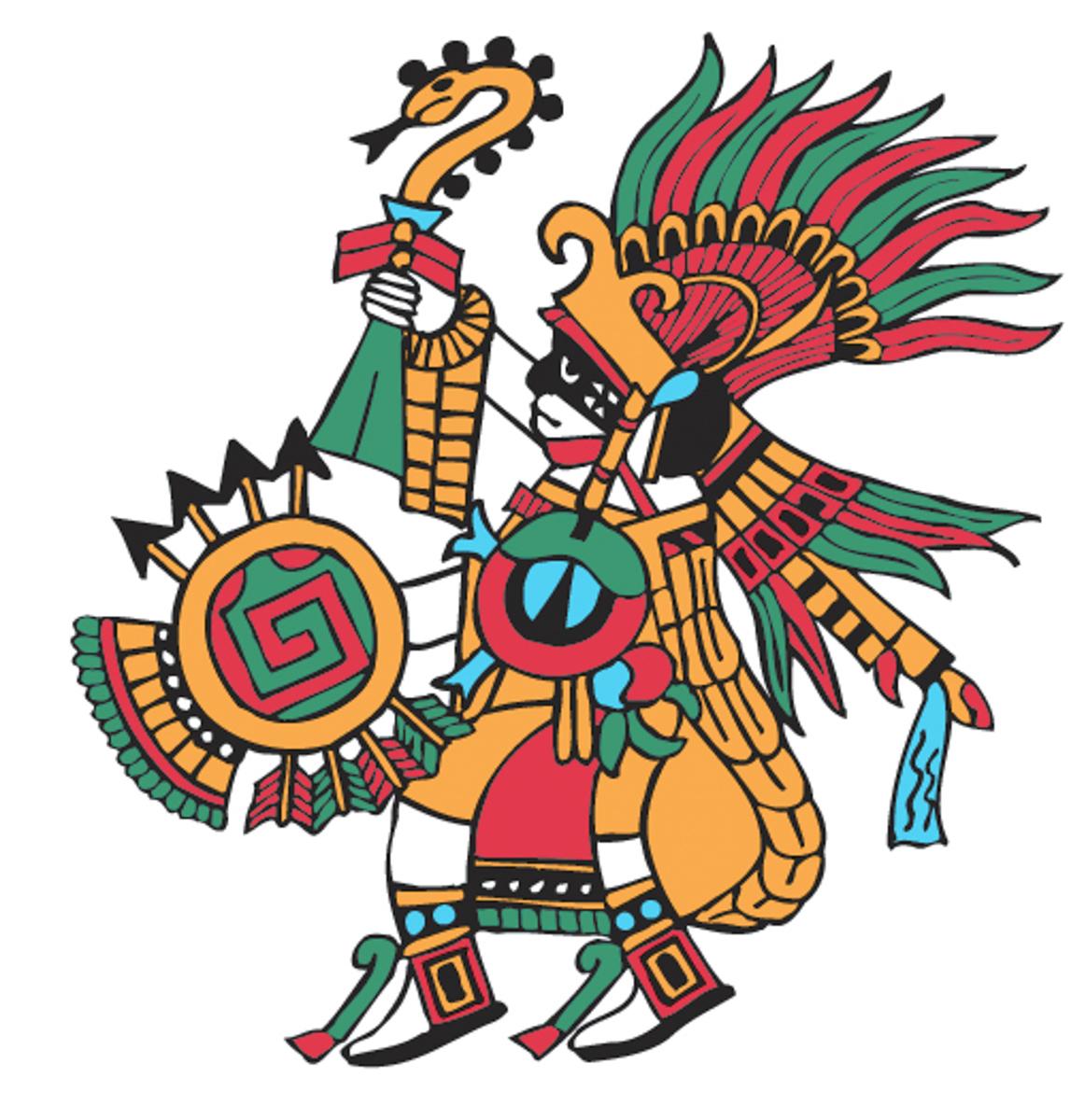 Huitzilopochtli Hummingbird Of The South God Of War Richard Balthazar