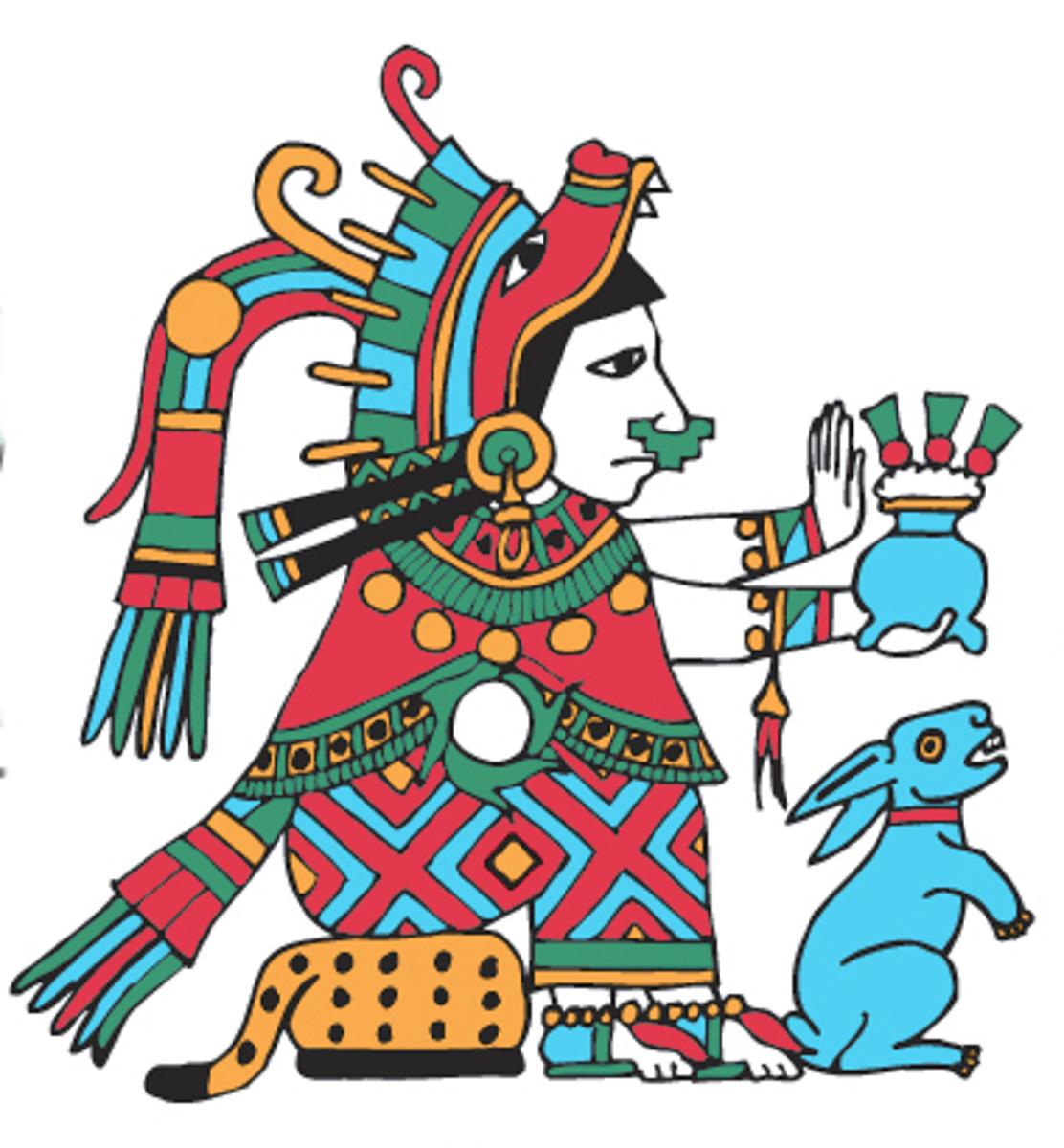 GODS   Richard Balthazar Xiuhtecuhtli Aztec God Of Fire