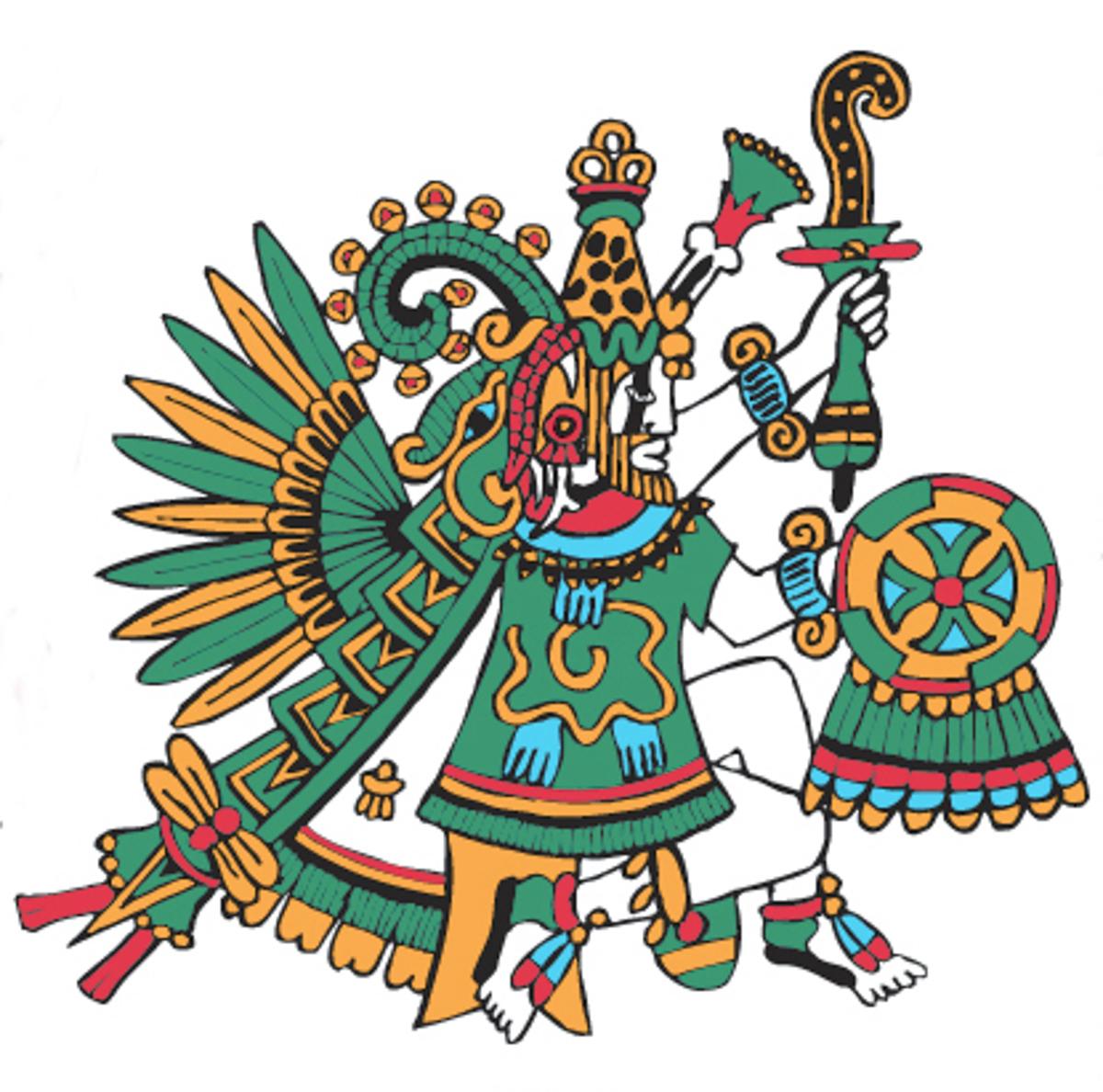 Quetzalcoatl Aztec God...