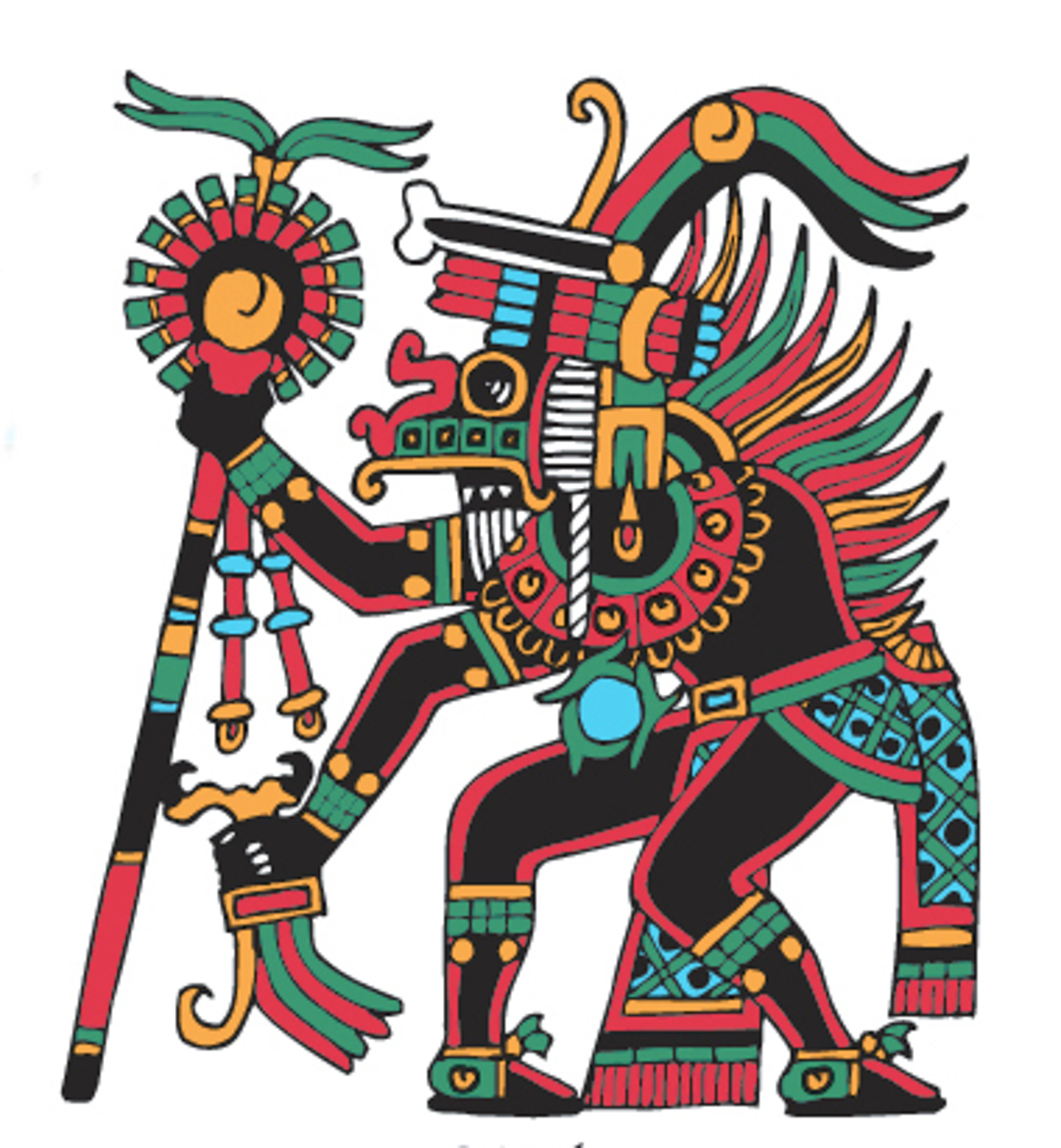 xolotl � god of the evening star � evil twin of