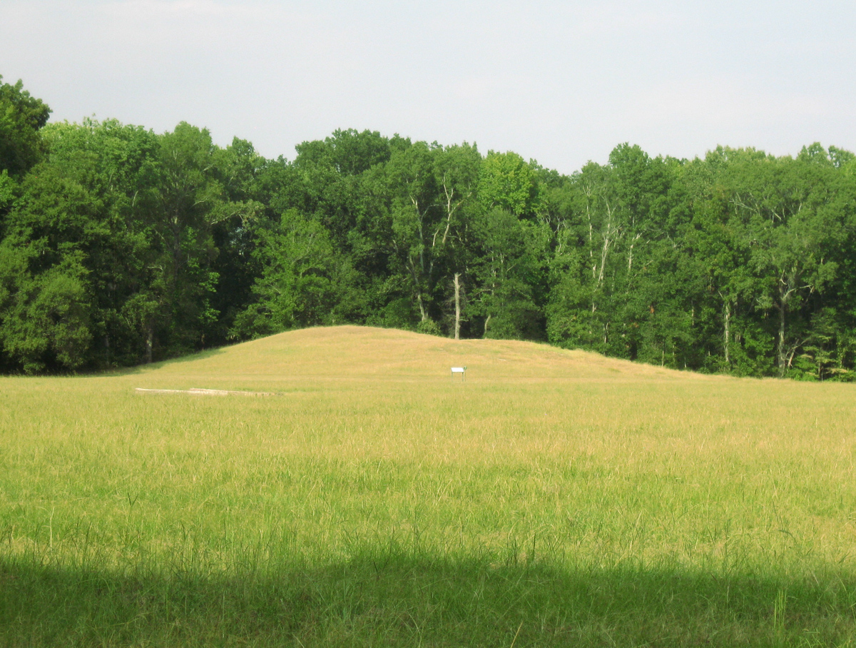 Indian burial mounds la poverty point burial mound richard for Affordable furniture marksville la
