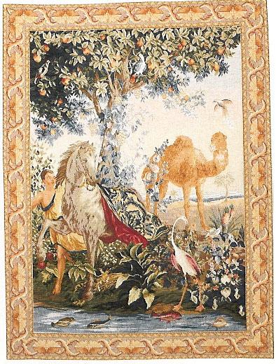 Cheval Drape - repro Gobelin tapestry