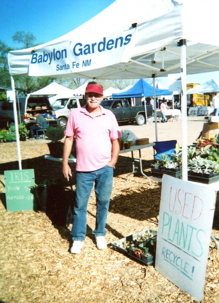 2006 booth at Farmers Market