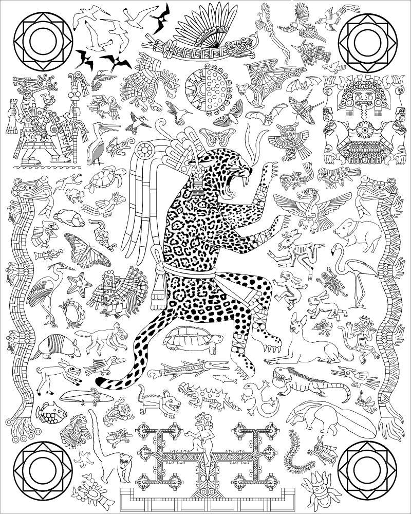 OCELOTL (Jaguar), Lord of the Animals