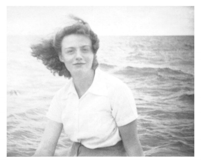 Yvonne Trinite Tapp 1938 at age of nineteen