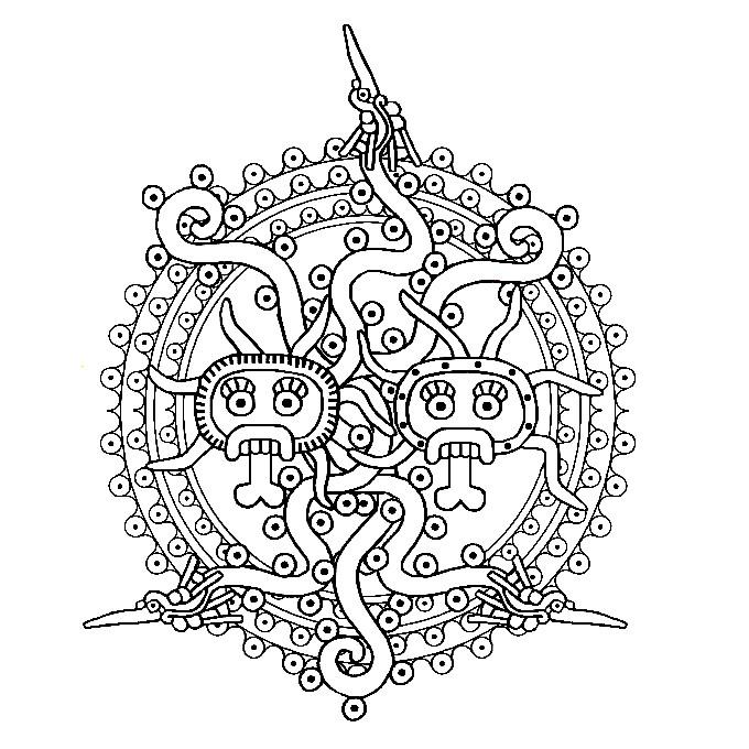 Aztec duity symbol