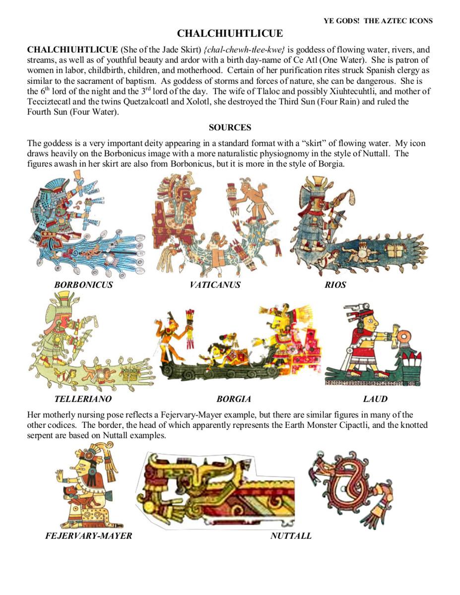 Aztec Gods Richard Balthazar