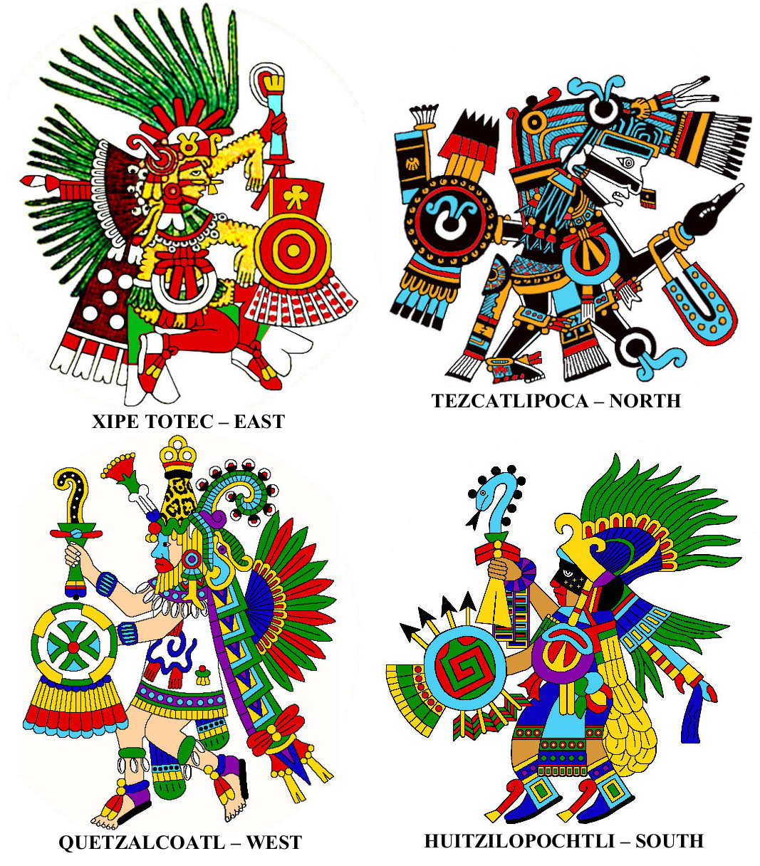 Aztec Gods of the Directions | Richard Balthazar