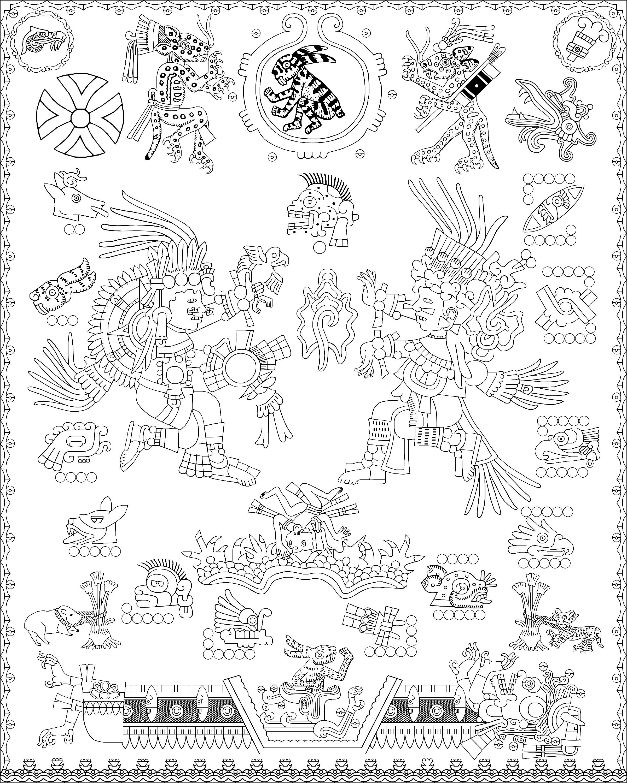 aztec icon 16 � tecciztecatl and metztli deities of the